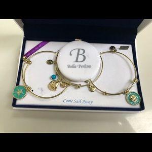 "Bella Perlina ""Come Sail Away"" bracelet set"